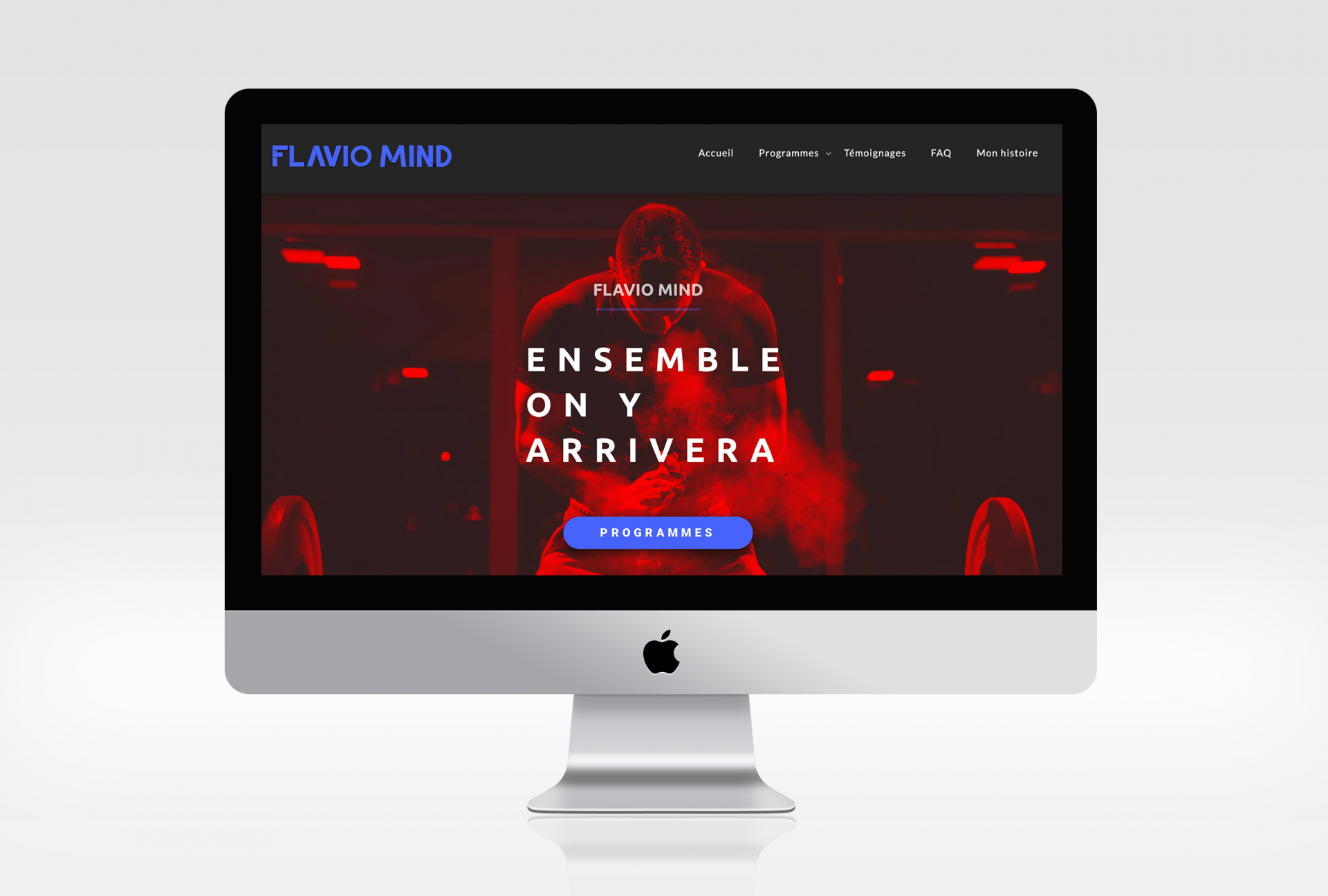 Site internet Flavio Mind