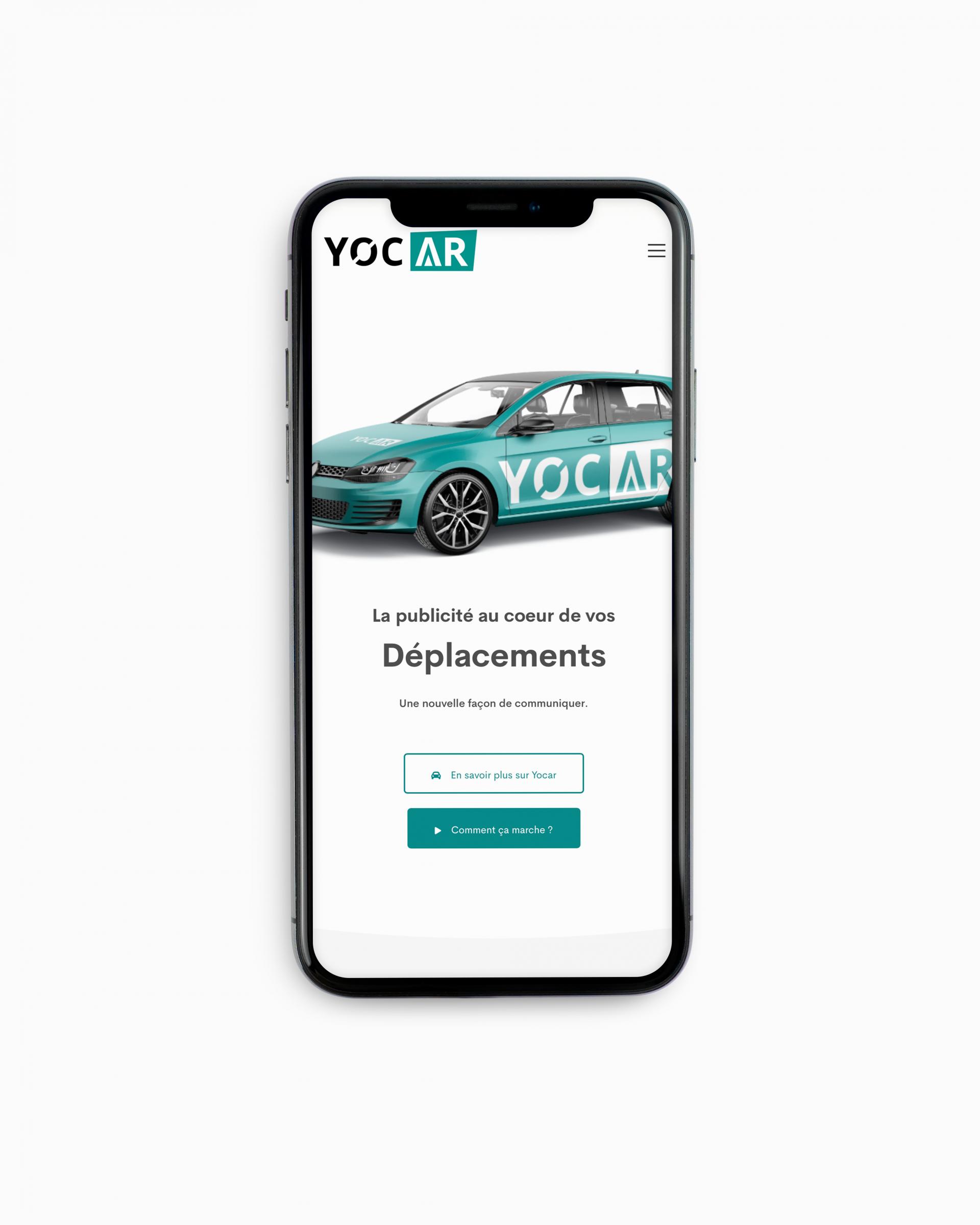 Yocar | Publicité sur voitures